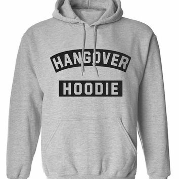 Hangover hoodie crew neck shirt unisex womens mens ladies  print  sweatshirt pullover, jumper sweater pocket