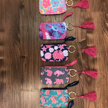 Simply Southern Change/ Keychain ID Holder- Various Styles