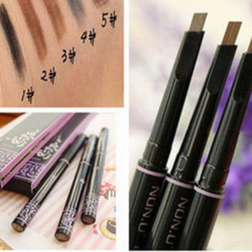 new automatic eyebrow pencil makeup paint for eyebrows brushes cosmetics brow eye liner tools brow pencil( 1pc) [8244064963]