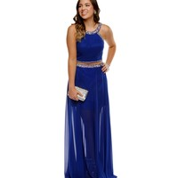 Bree- Royal Prom Dress
