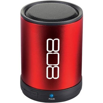 808 Audio(R) SP880RD CANZ Bluetooth(R) Portable Speaker (Red)
