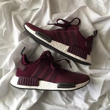 Adidas NMD Boost Women Running Sport Casual Shoes Sneakers