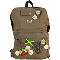 Bob Marley Zion Backpack Green