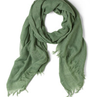 Milan the Go Scarf in Green | Mod Retro Vintage Scarves | ModCloth.com