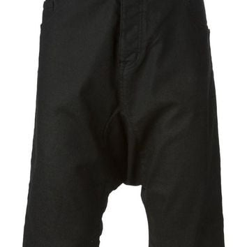 LMFONJF Love Moschino drop crotch shorts