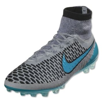 Nike Magista Obra AG R (Wolf Gray/Turquoise Blue) - WorldSoccerShop.com