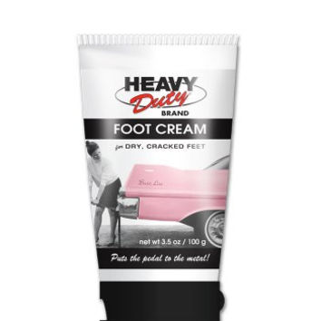 Retro Pin up Girl Foot Cream By Heavy Duty
