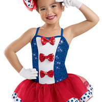Girls' Patriotic Tutu Dress; Weissman Costumes