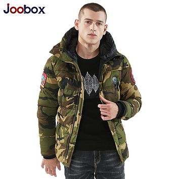 Winter Mens Camo Jackets Extended Warm Parka Male Cotton Lined Longline Camouflage Coats Plus Size