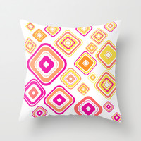 The pattern  Throw Pillow by Portugal Design Lab