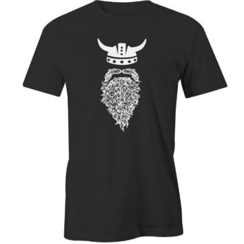 Beard Viking Printed T-Shirt - Men's Novelty T-Shirt