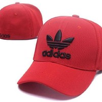 DCCKUN7 Ready Stock Adidas Letter Red Hat For Sale