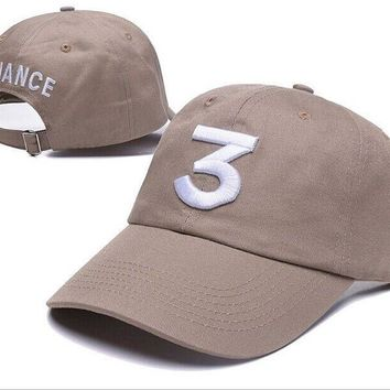 New Chance The Rapper 3 Dad Hat Baseball Cap Adjustable Strapback BLACK Baseball Caps