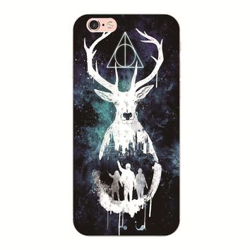 MEIZU U10 M5S M5 M3 Harry Potter Phone case For iphone 6S 6 7 plus For Samsung S8 S7 S6 S5 Hard cover For Huawei P10 P9 P8 Lite