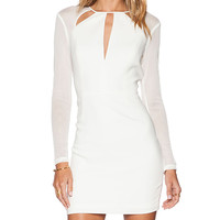 Jay Godfrey Moore Dress in White