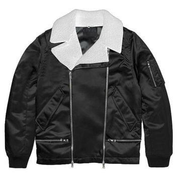 ONETOW Black Wraith Aviator Jacket