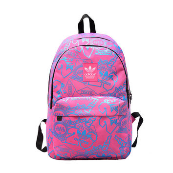 """Adidas"" School Backpack Laptop Bag Travel Rucksack Casual Daypack"