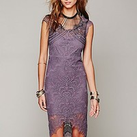 Free People Peekaboo Lace Slip