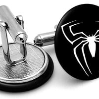 Spiderman Logo Alternate Cufflinks