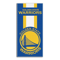 Golden State Warriors NBA Zone Read Cotton Beach Towel (30in x 60in)
