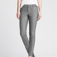 Banana Republic Womens Sloan Fit Charcoal Slim Ankle Pant