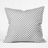 Elisabeth Fredriksson Polka Squares Throw Pillow