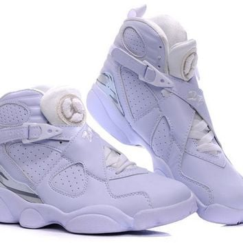 outlet store 197da c80bc Air Jordan 8(Uppers) + 13(soles) - All White [jdA520298] - $72.90 : Cheap  Jordans online store, Jordan Retro 11