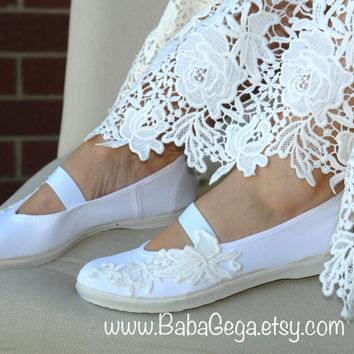 women's wedding shoes girls mary jane shoes white cotton wedding flats bridal shoes summer dress shoes rustic wedding bridesmaid gift