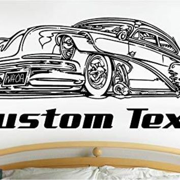 Chevy Low Rider Car Wall Decals Stickers Graphics Man Cave Boys Room Décor