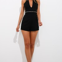 Innocent And Wild Playsuit Black