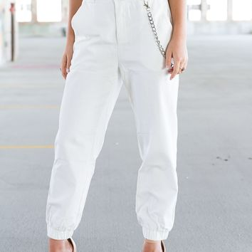 Oakland Pants - White