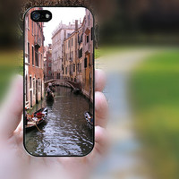 iphone 5c case,iphone 5 case,iphone 5s case,iphone 5s cases,iphone 5 cases,iphone 5c case, iphone 5s cover--Venice Italy Gondola,in plastic