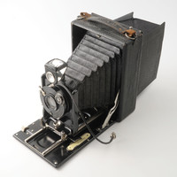 Ica Hekla 168 9x12 cm Double Extension Folding Plate Camera