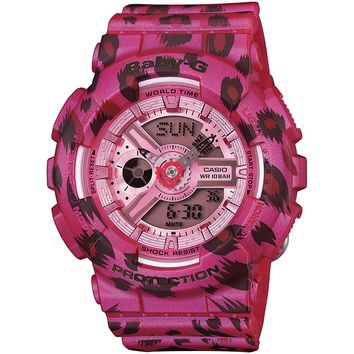 G-Shock BA110LP-4A Baby-G Pink Series Luxury Watch - Pink / One Size
