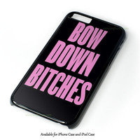 Bow Down Beyonce Inspired Design for iPhone 4 4S 5 5S 5C 6 6 Plus, and iPod Touch 4 5 Case