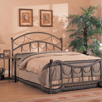 Coaster Fine Furniture Queen Size Bed (Iron) Brass 300021Q