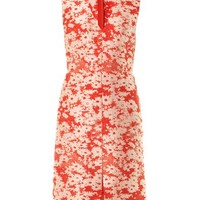 Giona daisy-jacquard dress