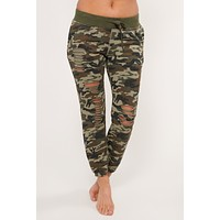 Can't Be Seen Camo Joggers (Black/Olive)