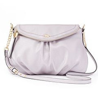 Juicy Couture Metallic Lilac Mist JC Traveler Bag