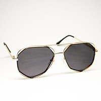 YHF Maddie Black Sunglasses