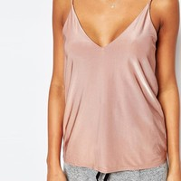 Boohoo V Neck Cami Top