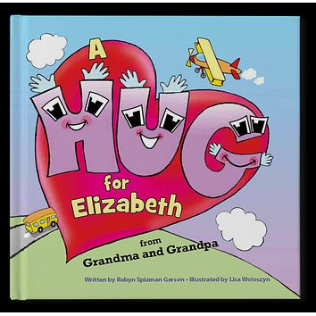 The Hug Book Personalized Storybook - Soft Cover