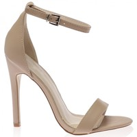 Carrie Heels in Nude