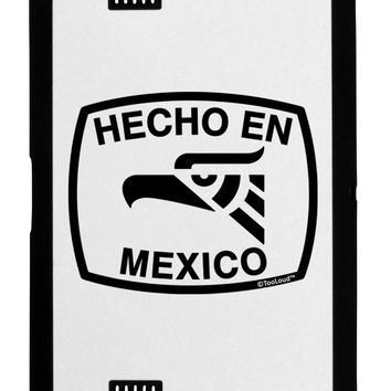 Hecho en Mexico Eagle Symbol with Text Black Jazz Kindle Fire HD Cover by TooLoud