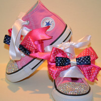 customized converse by CuteandChicBoutique on Etsy