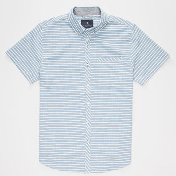 Roark Samasinya Mens Shirt Blue  In Sizes