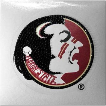 ONETOW NCAA Florida State Seminoles Auto Bling Rhinestone Decal