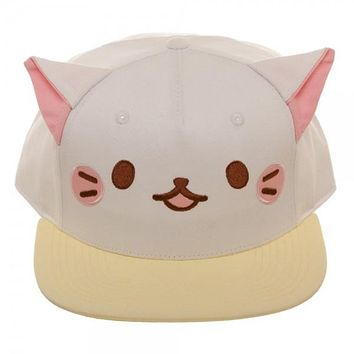 Bananya Cut Fabric Embroidery Hat Cap
