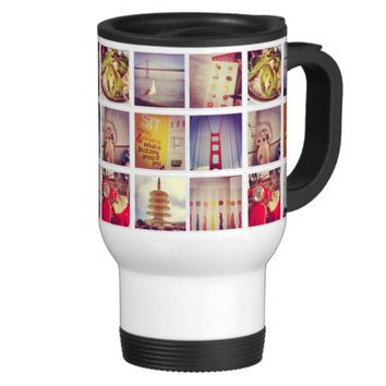 Create Your Own Instagram Travel Mug