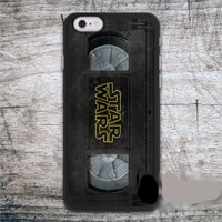 Retro VHS Tape Star Wars iPhone Case 6 6s 7 Plus